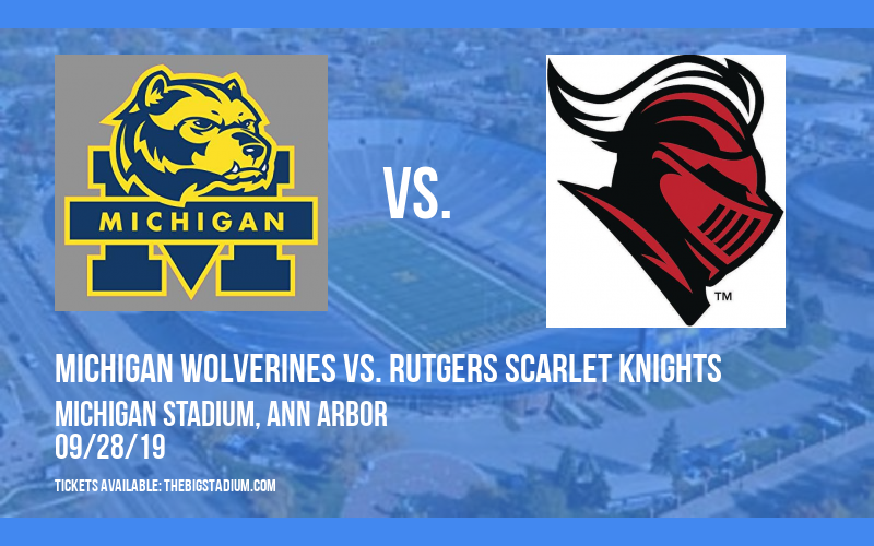 Michigan Wolverines vs. Rutgers Scarlet Knights at Michigan Stadium