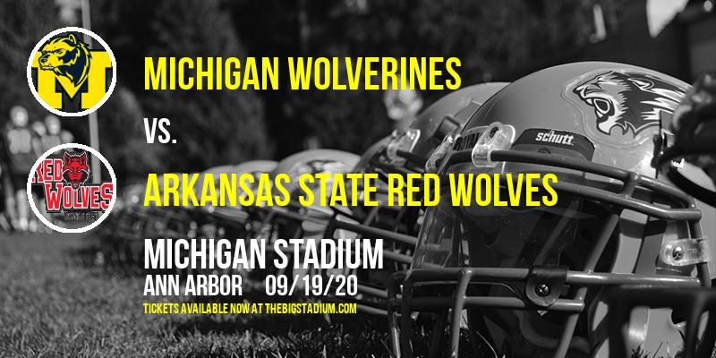 Michigan Wolverines vs. Arkansas State Red Wolves at Michigan Stadium