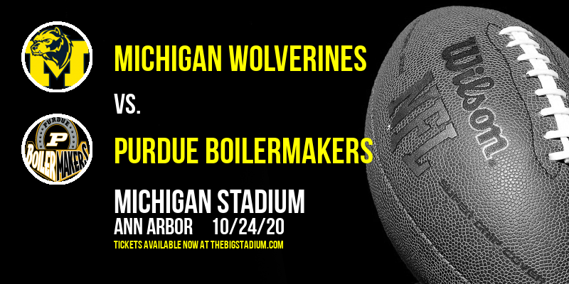 Michigan Wolverines vs. Purdue Boilermakers at Michigan Stadium