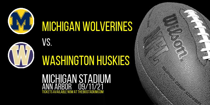 Michigan Wolverines vs. Washington Huskies at Michigan Stadium