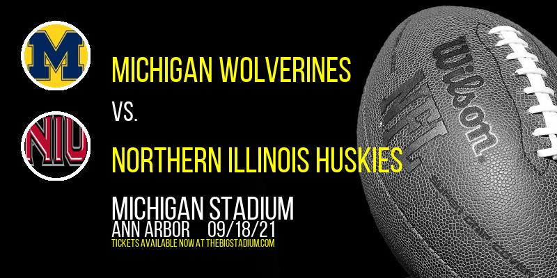 Michigan Wolverines vs. Northern Illinois Huskies at Michigan Stadium
