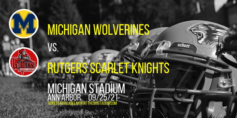 Michigan Wolverines vs. Rutgers Scarlet Knights at Michigan Stadium