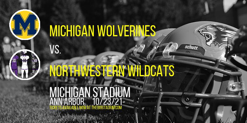 Michigan Wolverines vs. Northwestern Wildcats at Michigan Stadium
