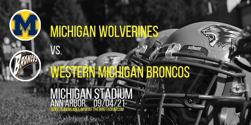 Michigan Wolverines vs. Western Michigan Broncos at Michigan Stadium